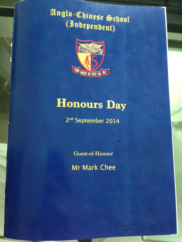 Gideon ACSI Honours Day