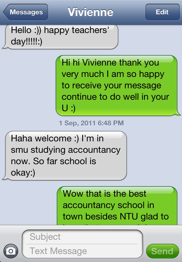 MJC Graduate Offered SMU  Accountancy